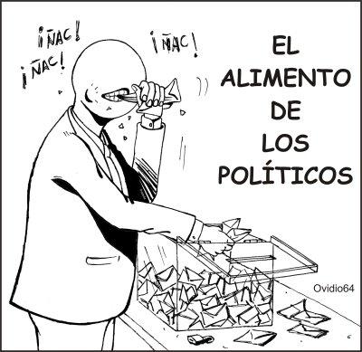 El alimento de los politicos